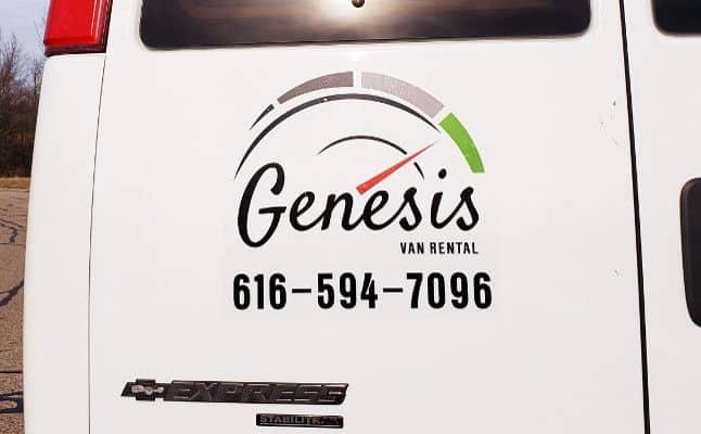 Genesis Van Rental   15 Passenger Church Van Rentals